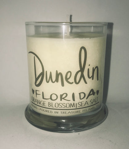 Dunedin Florida- burns 45-50 hours- Sea salt and grapefruit and Orange Blossom