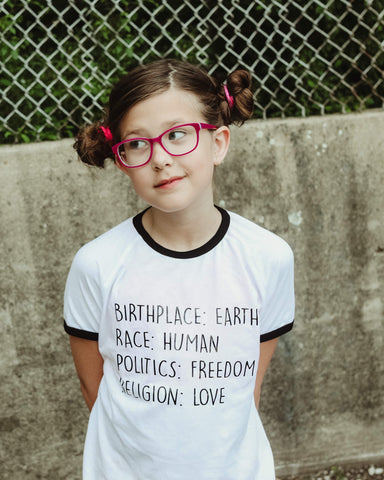 Just Love. Most perfect shirt ever. Available in baby, toddler, kids, women's and men's sizes.
