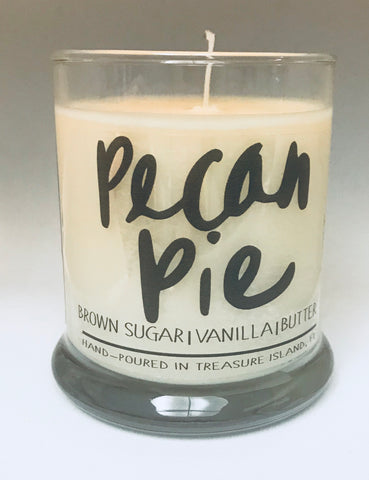 Pecan Pie- 100% soy candle- 9oz jar- burns 45-50 hours- Brown Sugar Vanilla Butter