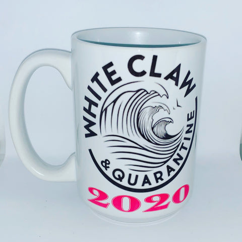 White Claw and Quarantine- - Social Distancing