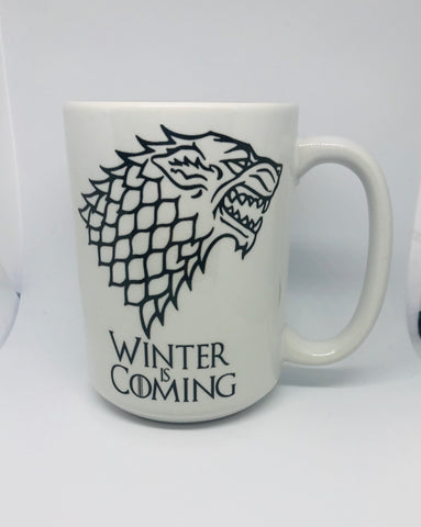 Winter is coming 15oz mug
