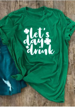 Let's Day Drink St. Patrick's Day- Tee or Tank
