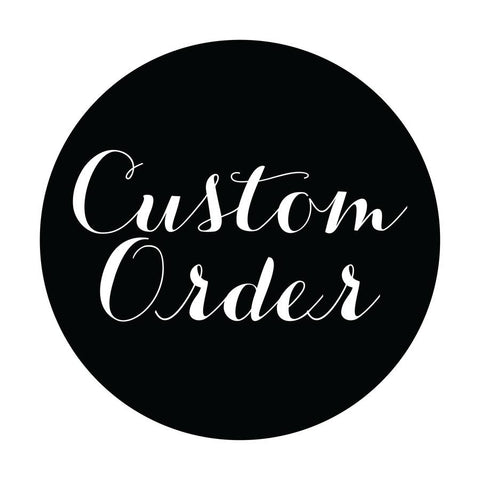 Custom Shirt Order for RB - Pick Me Cups