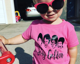 Golden Girls-Stay Golden Kid's shirts- Cute kids shirts- onesies- baby shower gifts- new mom gift - Pick Me Cups