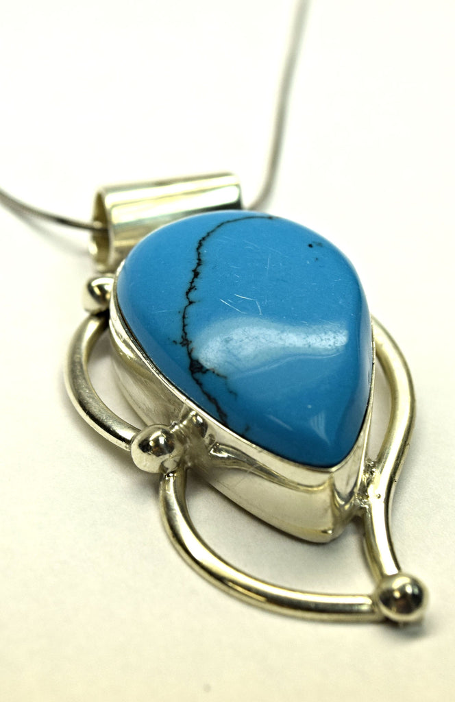 Sterling Silver Turquoise Neckalce