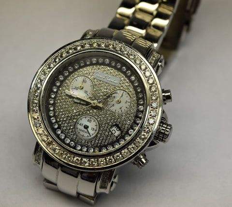 Joe Rodeo Diamond bezel watch