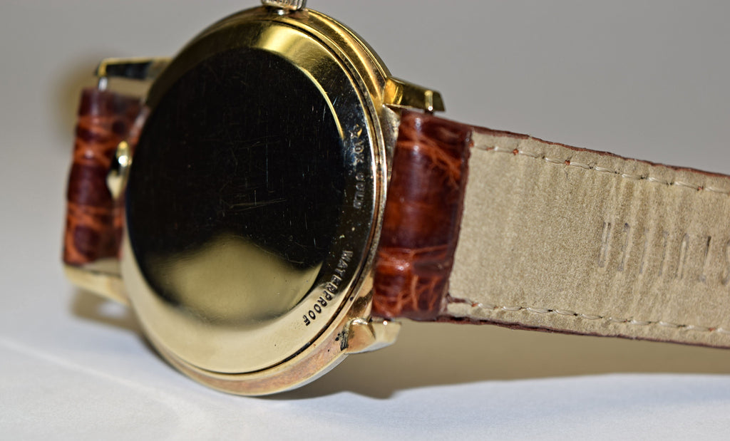 Gold Lord Elgin Watch