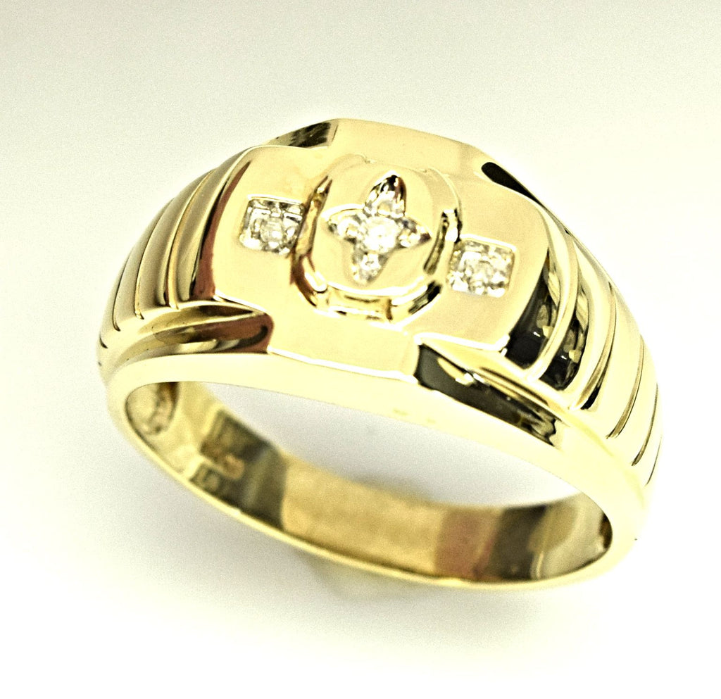 Yellow Gold Fashion Ring
