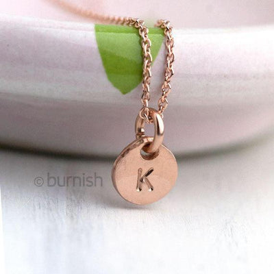 Add-on Charm for Tiny Disc Necklace - Handmade Jewelry by Burnish