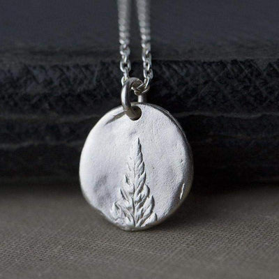Botanical Fern Necklace - Handmade Jewelry by Burnish