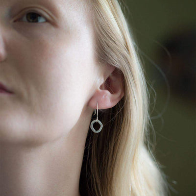 Freeform Earrings - Jewelry by Burnish