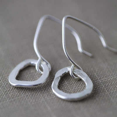 Freeform Earrings - Handmade Jewelry by Burnish