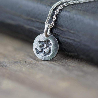 ONLY 1 - Ohm Necklace - Handmade Jewelry by Burnish