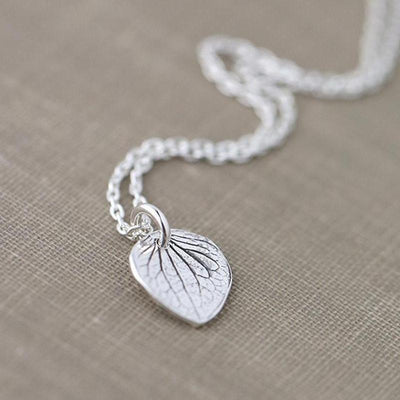 ONLY 1 - Petal Necklace - Handmade Jewelry by Burnish