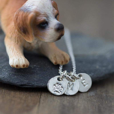 Personalized Pet Owner's Necklace - Handmade Jewelry by Burnish