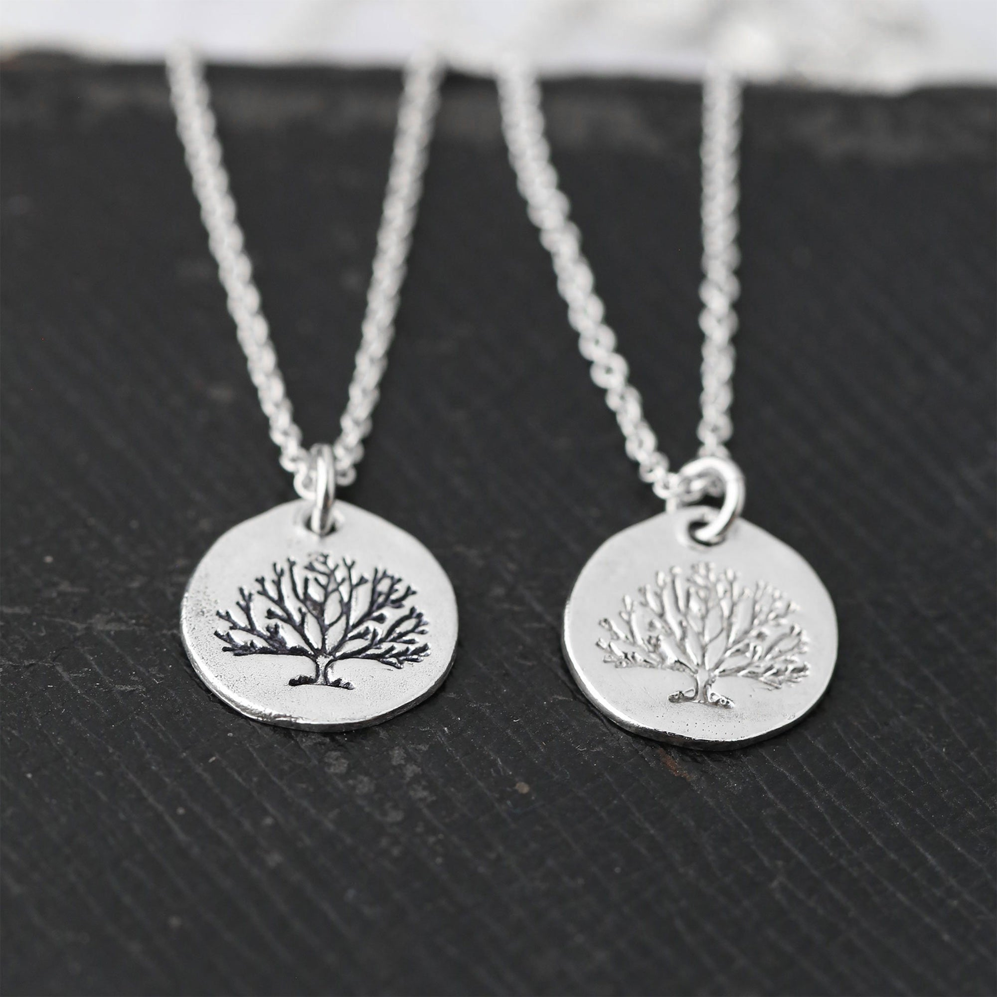 Tree of Life Necklace - Handmade Jewelry by Burnish