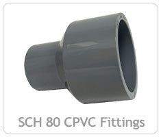 Schedule 80 CPVC Fittings