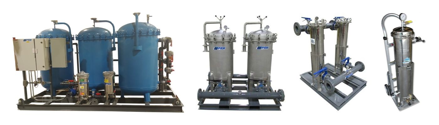 Portable Skid-Mounted Industrial Filtration Systems