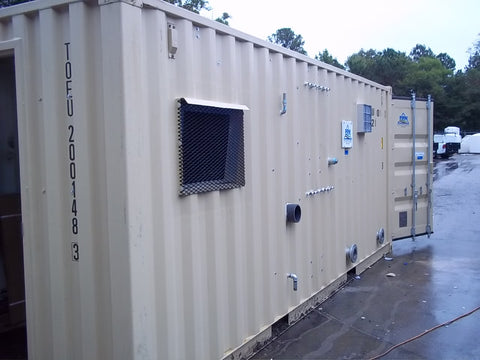RT-3337 Multi-Phase Extraction/Air Sparge System, 600 CFM, 8' x 20' Connex Container