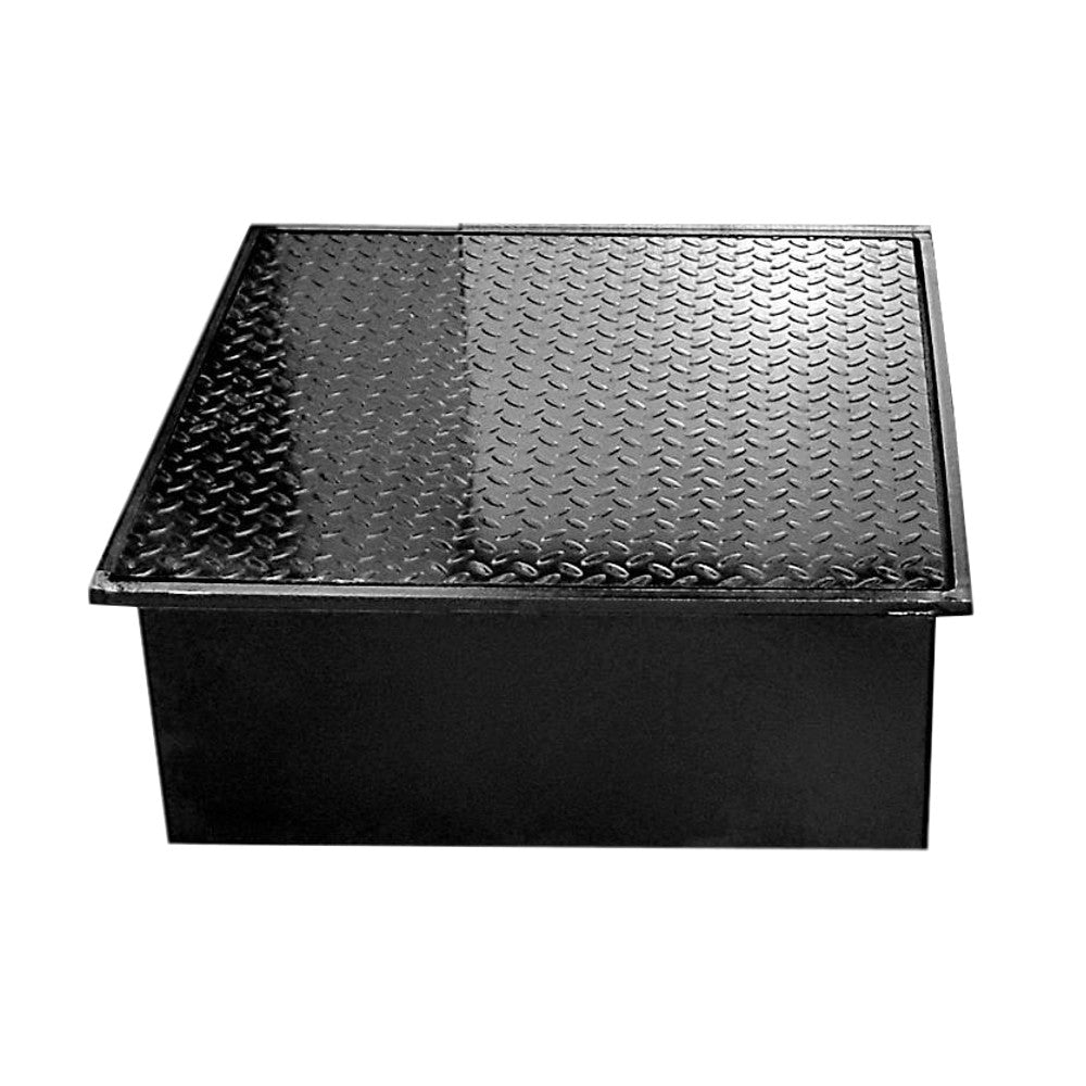 WELL VAULT - 24 X 24 X 10 INCH WITH LAY-IN LID - A0717-724