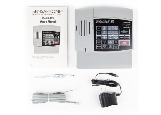 Everything that's Included with the Sensaphone 400 Monitoring System