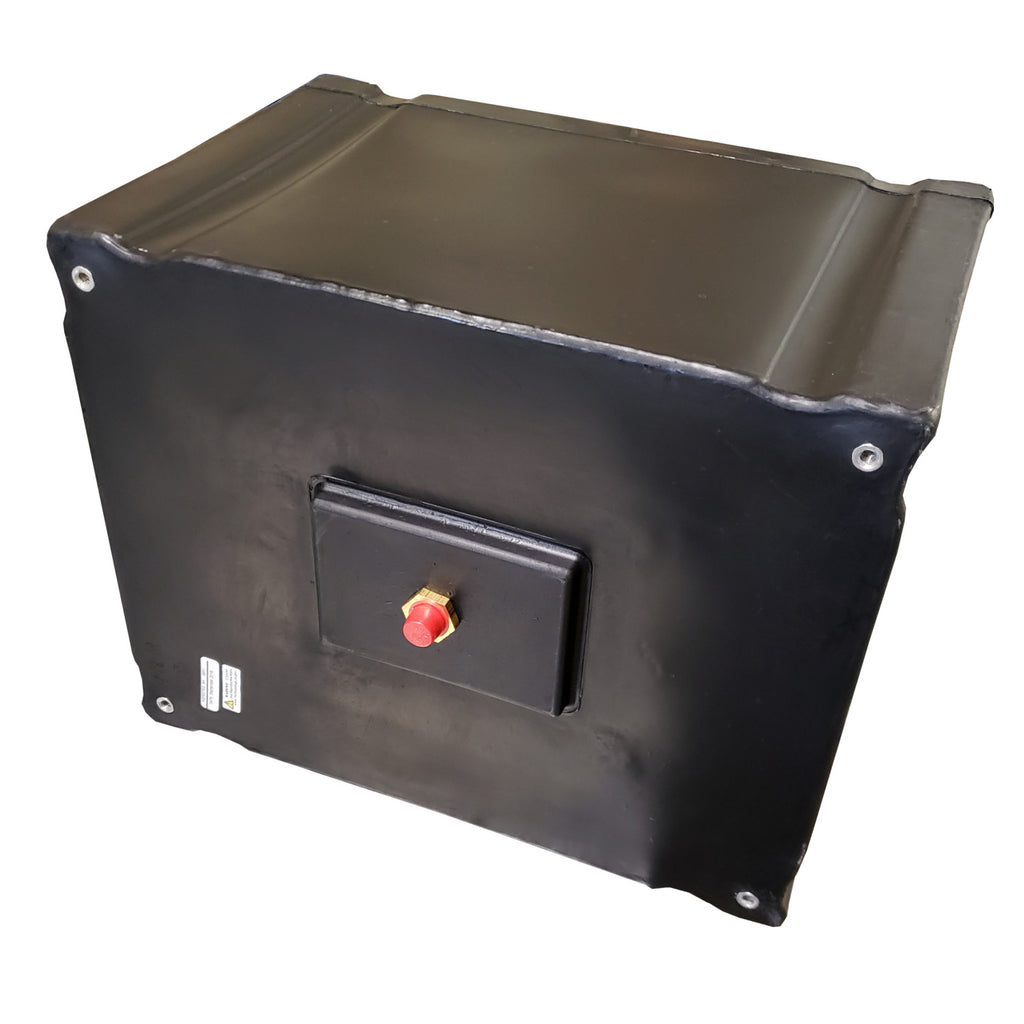 Ace Roto-Mold 12 Gallon Fuel Tank With Brass Bulkhead, SP00012SFPSXNAS