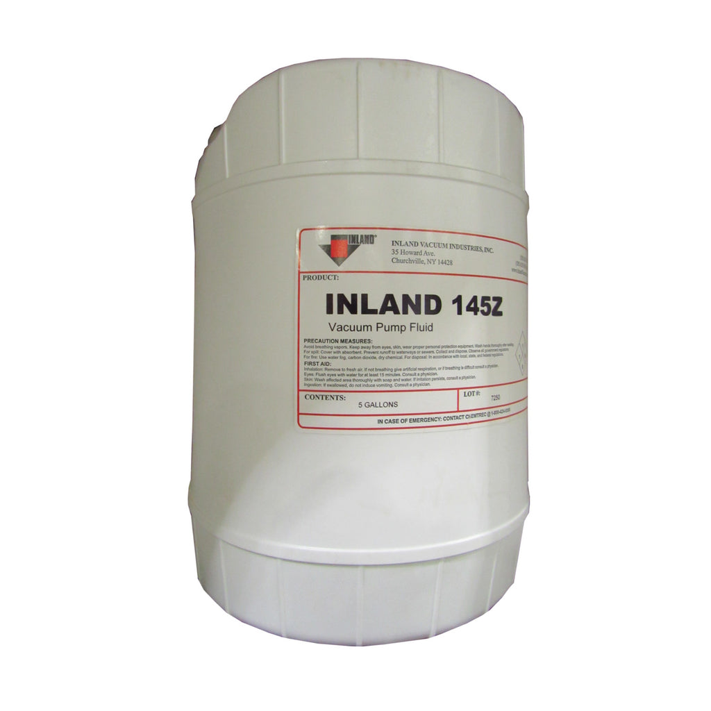Inland Oil 145Z Full Synthetic Positive Displacement Blower Oil, 5 Gallons