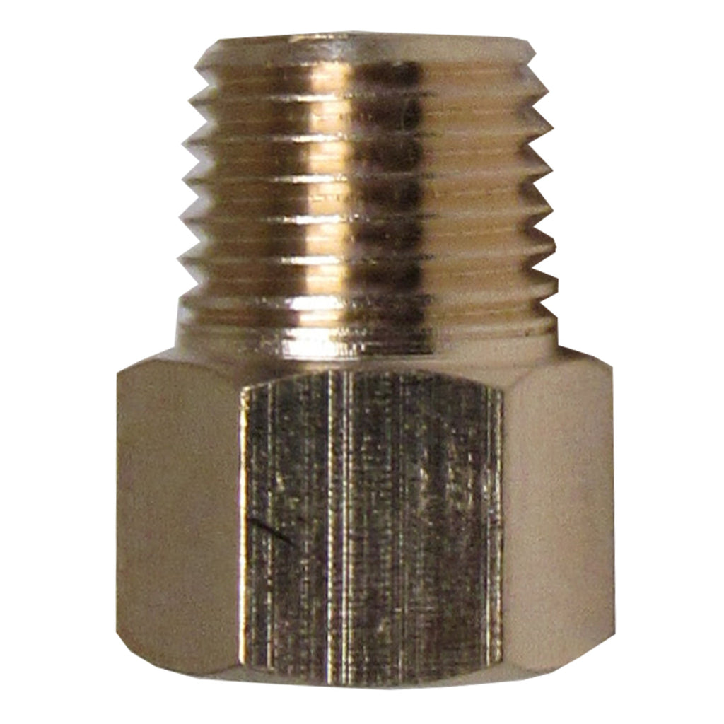 Brass Adapter - 1/4 Inch NPT Male X 1/4 Inch BSPP Female with Sealing Washer