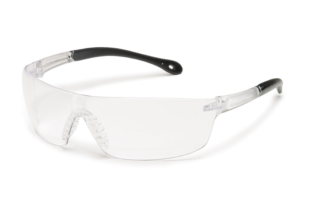 Gateway Safety Starlite 4479 Squared Safety Glasses, Clear Anti-Fog Lens, Clear Temple, Lightweight