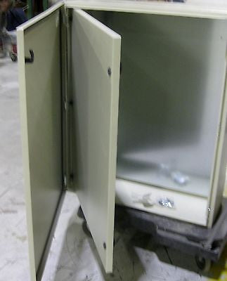Tecnomatic Panel Enclosure, 40 X 32 X 12 with Dead Front and Back Plate, Powder Coated, 28220-PD