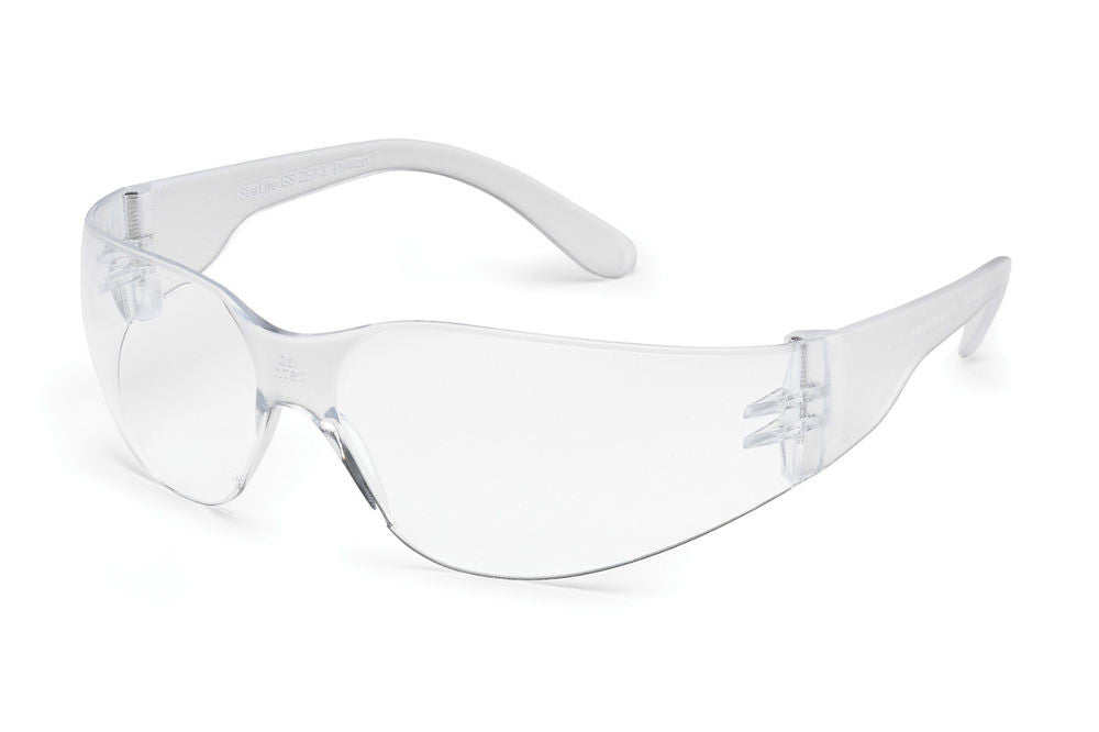 Gateway Safety Starlite 3679 Small Safety Glasses, Clear Anti-Fog Lens, Clear Temple