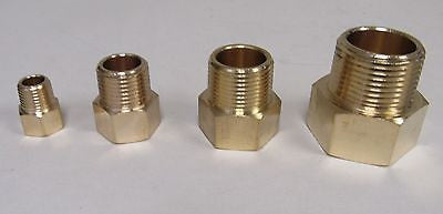 Brass Adapter - 1/8 Inch NPT Female X 1/8 Inch BSPP Male