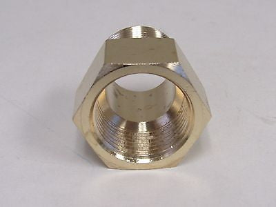 Brass Adapter - 1/2 Inch NPT Male X 1/2 Inch BSPP Female