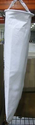 #2 Size Polyester Felt Liquid Filter Bags, Carbon Steel Ring - 10 Micron