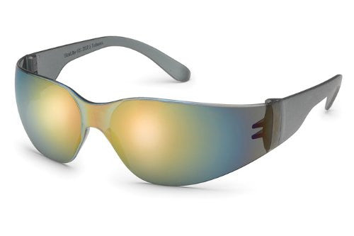 GATEWAY SAFETY STARLITE 461M SAFETY GLASSES, RED MIRROR LENS, GRAY TEMPLE, LIGHTWEIGHT