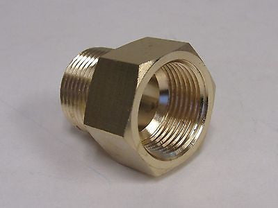 Brass Adapter - 3/4 Inch NPT Male X 3/4 Inch BSPP Female