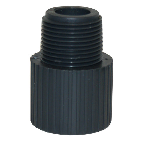 ERA Sch 80 PVC Male Adapter, Male NPT Thread X Socket - 1 Inch