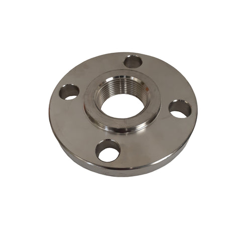Stainless Steel Flange, 1 Inch NPT Thread, 304 SS, Class 150