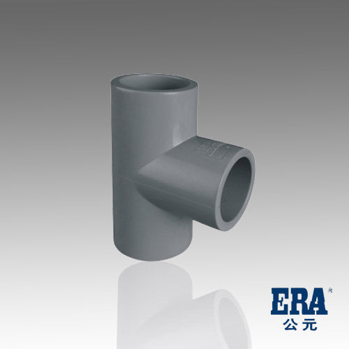 ERA Sch 80 CPVC 1-1/4 Inch Straight Tee, Socket