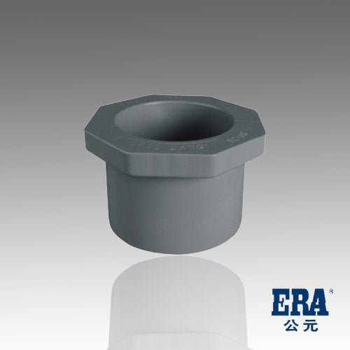 ERA Sch 80 PVC Reducing Bushing (Ring), 1-1/2 Inch X 1-1/4 Inch, Socket