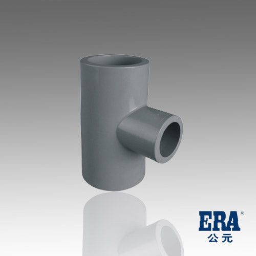 ERA SCH 80 PVC Reducing Tee - 2 Inch X 2 Inch X 1 Inch Socket Connect
