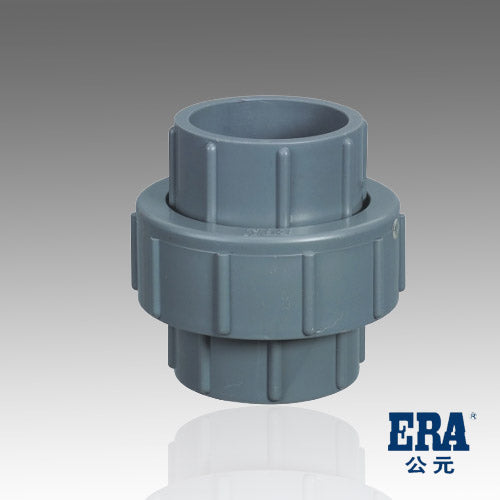 ERA Sch 80 PVC 4 Inch Union, Socket Connection
