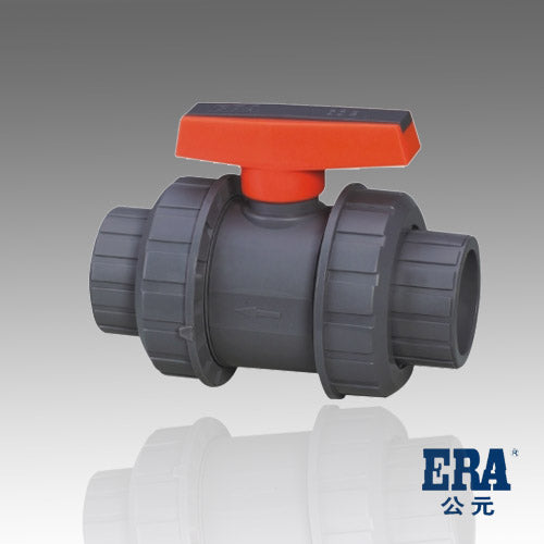 ERA Sch 80 PVC True Union Ball Valve, 4 Inch Socket Connect