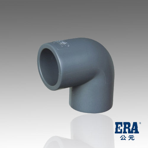ERA Sch 80 PVC 90 Degree Elbow - 4 Inch Socket Connect