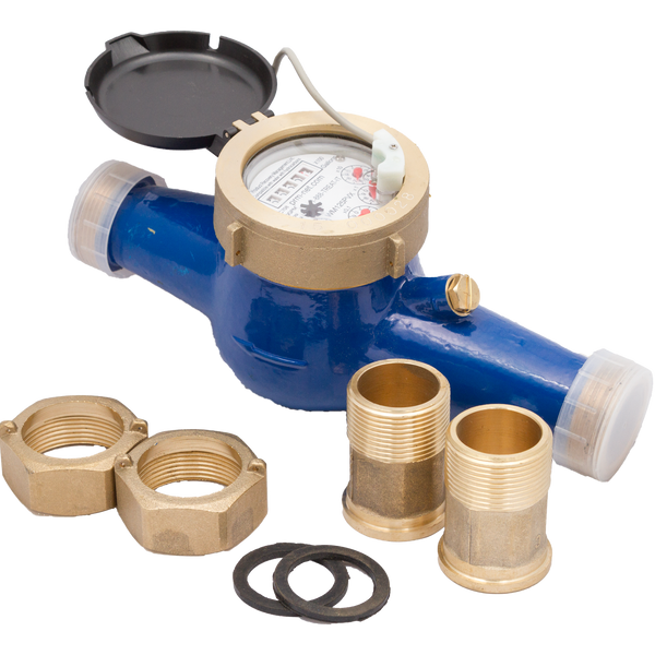 Prm Multi-jet Brass Water Meter With Pulse Output  4 Inch  U2013 Prm Filtration