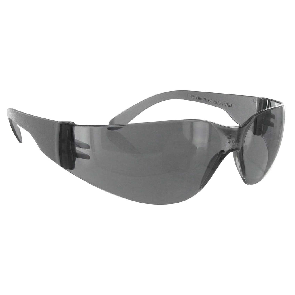 Gateway Safety Starlite 3683 Small Safety Glasses, Gray Lens, Gray Temple, Lightweight