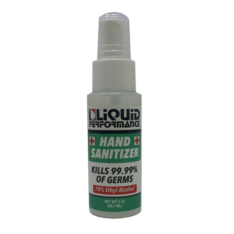 Liquid Hand Sanitizer, 2 oz. Spray, Pack of 4