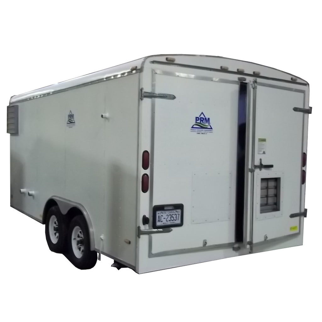 RT-4377 MPE SYSTEM - 8 X 16 TRAILER WITH DOUBLE REAR DOOR
