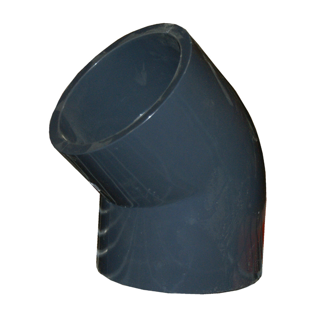 ERA Sch 80 PVC 45 Degree Elbow - 6 Inch Socket Connect