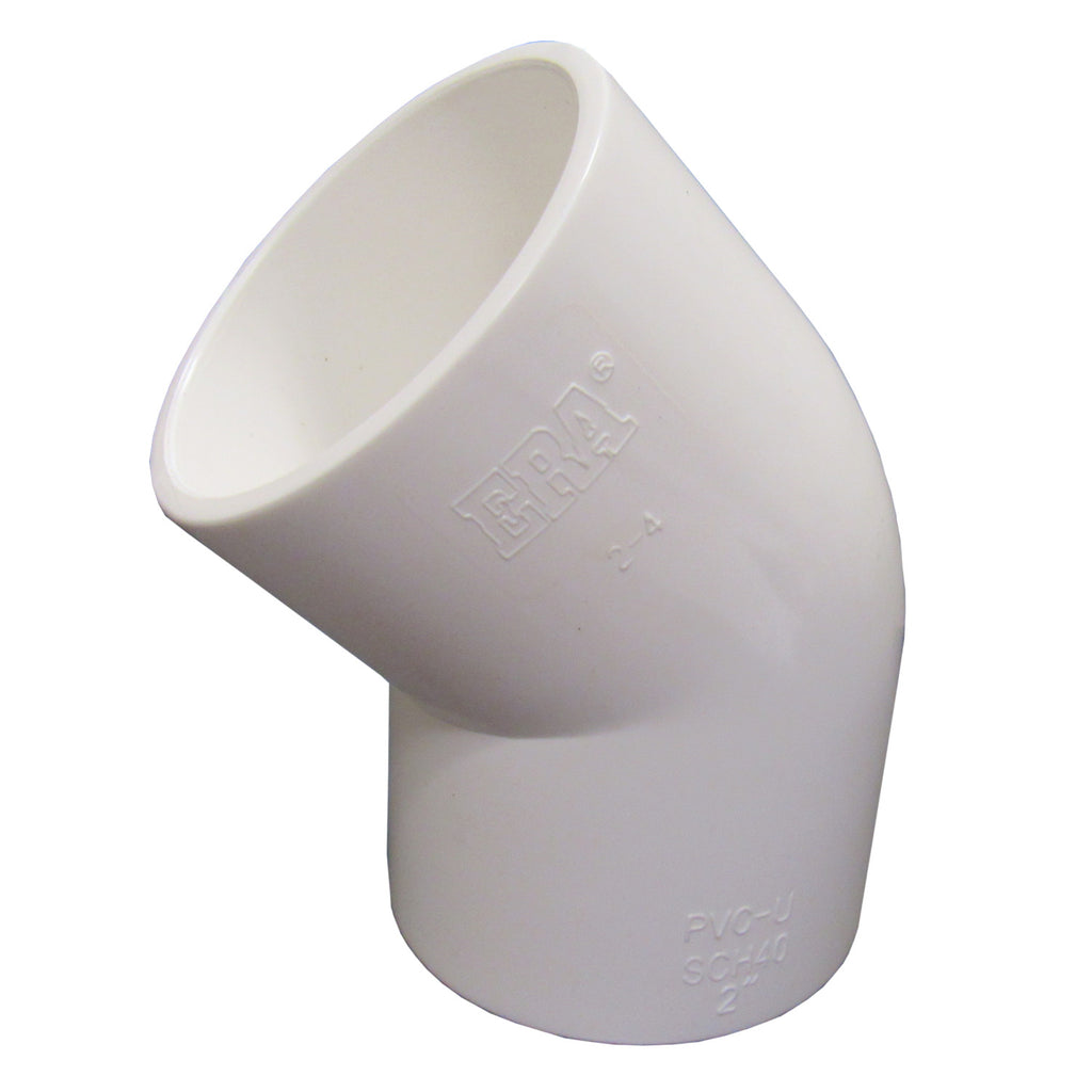 ERA Sch 40 PVC 45 Degree Elbow - 2 Inch Socket Connect